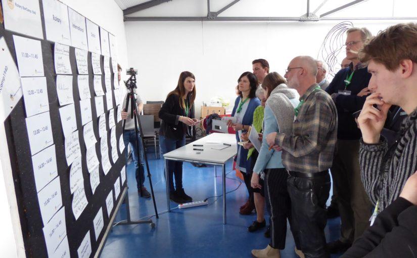 Rotary-Barcamp: Da spielt die Musik!