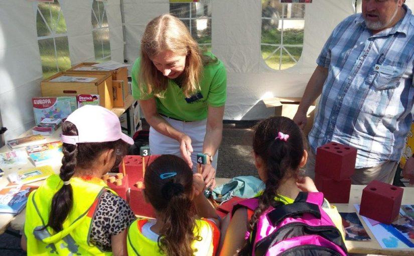 Viele glückliche Kinder beim Rotary-Kindertag im Zoo
