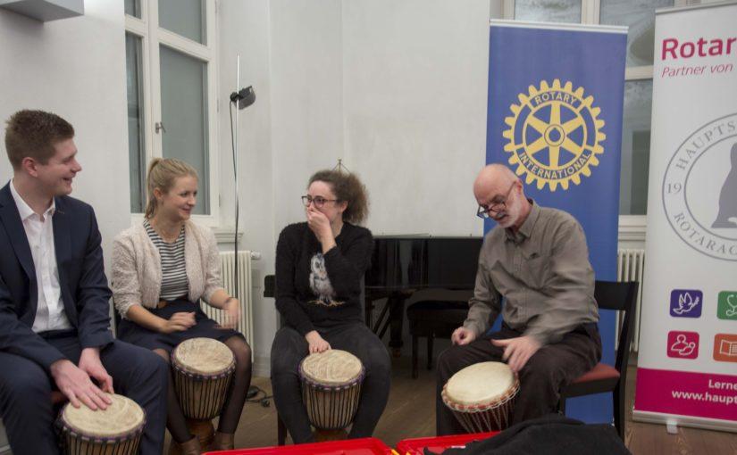Köpenick: Trommeln für Kinder, Jazz für die Erwachsenen