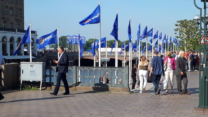 Impressionen: Rotary International Convention in Hamburg