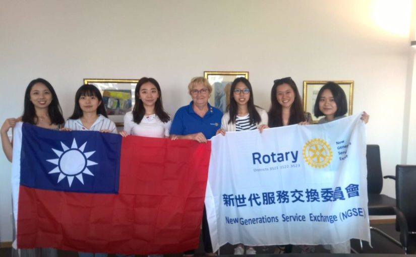 Sechs Taiwanesinnen erleben unseren Distrikt