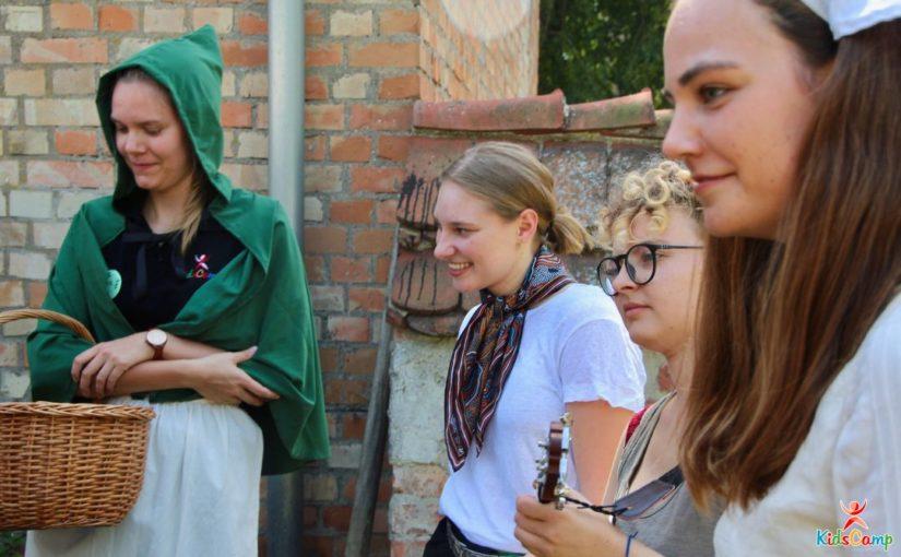 KidsCamp aus der Sicht einer Rotaracterin in der Aufgabe als Springerin
