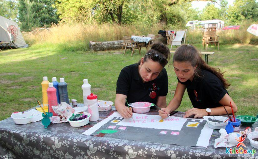 KidsCamp aus der Sicht einer Rotexerin in der Aufgabe als Zeltbetreuerin