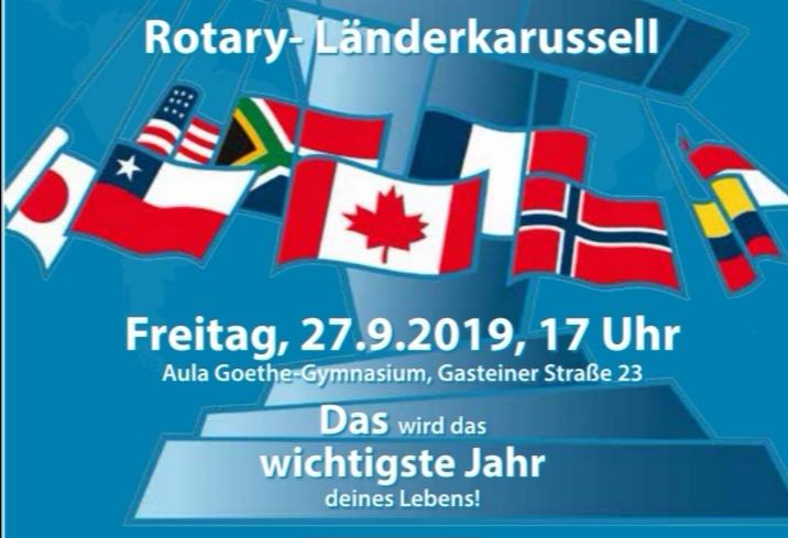 Auf zum Länderkarussell – Einladung an alle, die mit dem rotarischen Schüleraustausch die Welt entdecken wollen