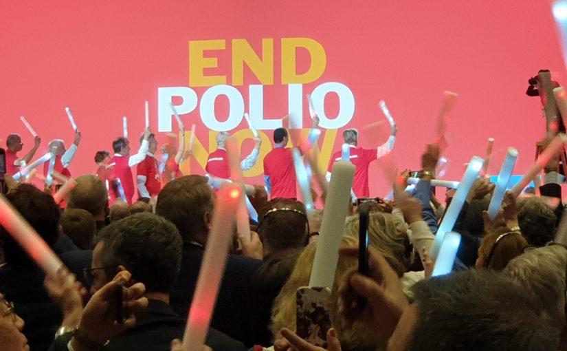 Bill Gates verspricht weitere 450 Millionen Dollar gegen Polio