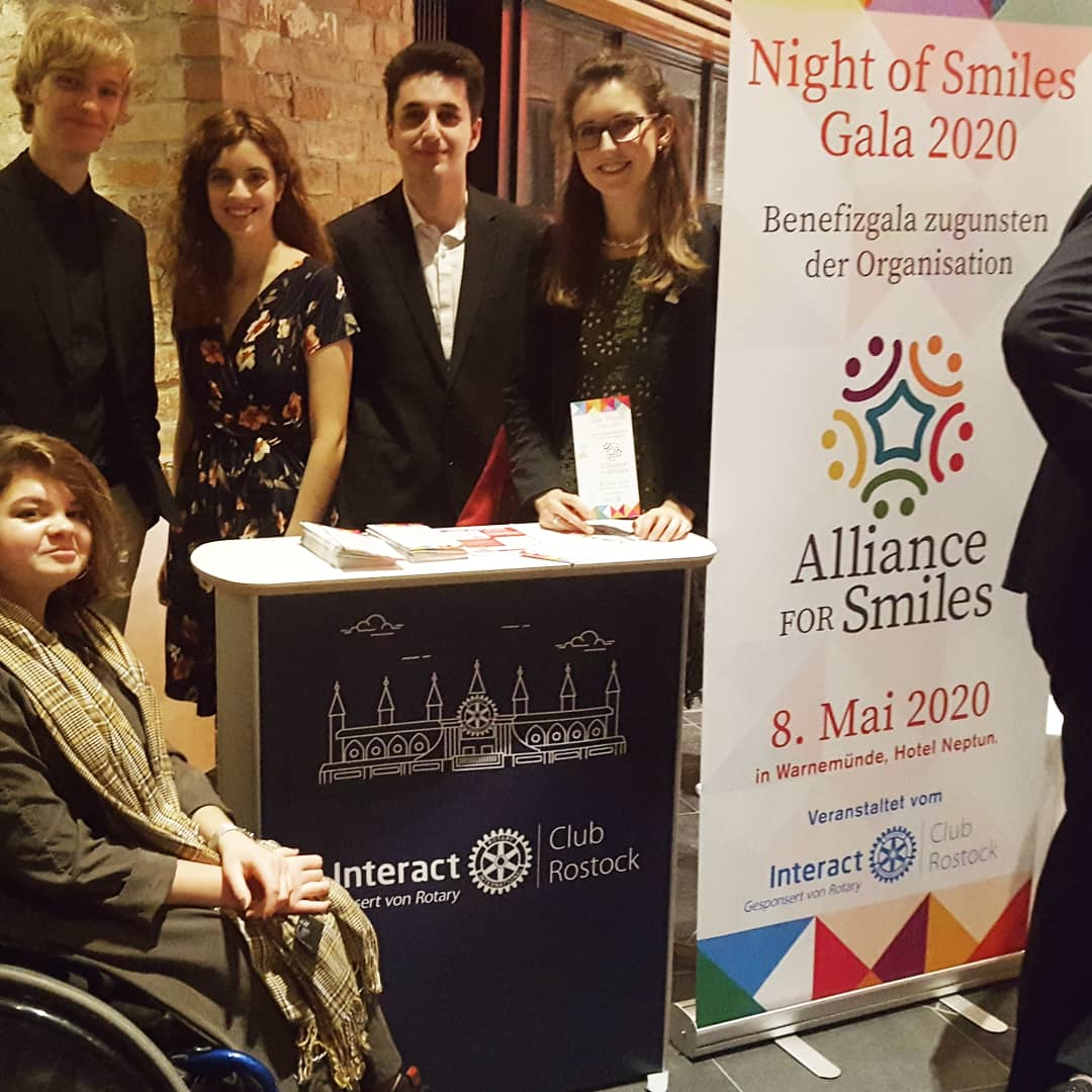 Alliance for Smiles: Interact Club Rostock organisiert große Benefizgala