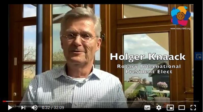 Interview mit Holger Knaack: Chancen für Veränderung von Rotary