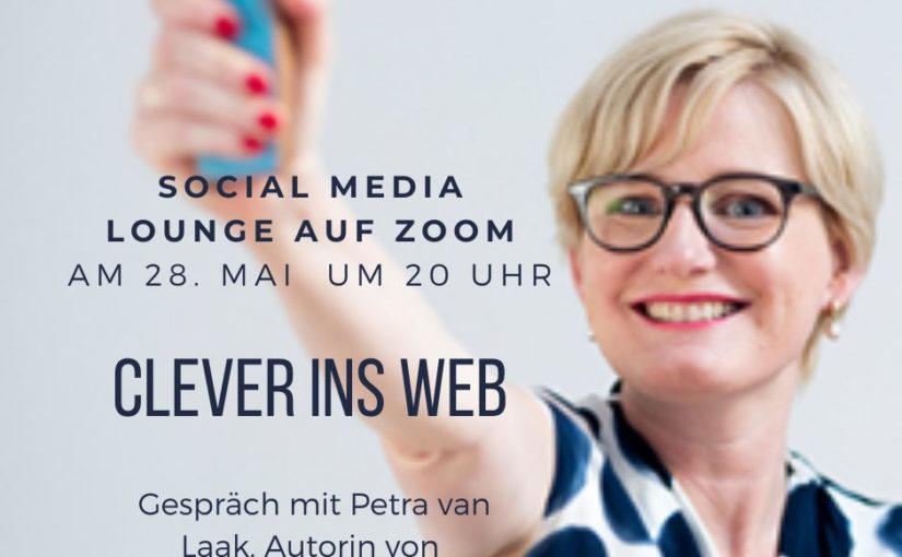 Clever ins Web: Social Media Lounge am 28. Mai um 20 Uhr
