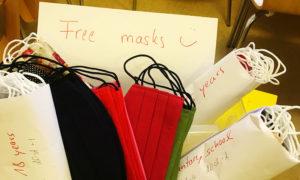 180 Masken in verschiedenen Größen stehen für Open.med bereit